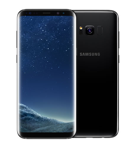 samsung galaxy s8 / midnight black